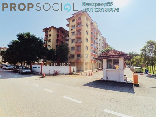 For Sale Apartment at Carlina Apartment, Kota Damansara Freehold Semi Furnished 3R/2B 310k