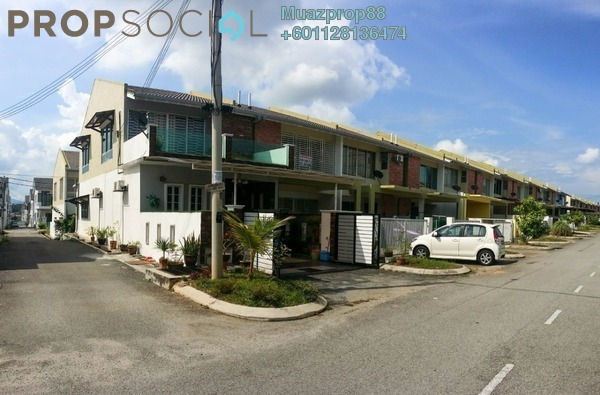 For Sale Terrace at Semenyih Parklands, Semenyih Freehold Fully Furnished 4R/3B 485k