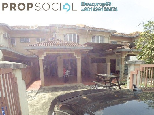 For Sale Terrace at U12, Shah Alam Freehold Semi Furnished 4R/3B 620k