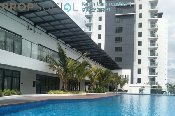 For Rent Condominium at Damai Hillpark, Bandar Damai Perdana Freehold Semi Furnished 3R/2B 1.5k