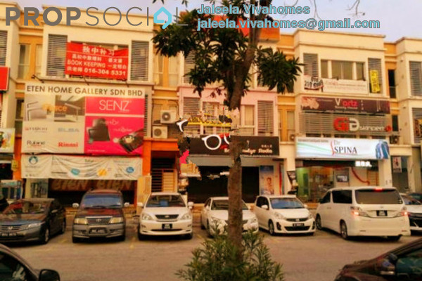 For Rent Shop at Setia Avenue, Setia Alam Freehold Semi Furnished 0R/1B 4.8k