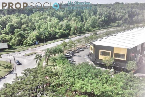 For Sale SoHo/Studio at Suria Jelutong, Bukit Jelutong Freehold Semi Furnished 1R/1B 300k