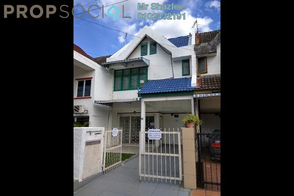 For Sale Terrace at Taman Setiawangsa, Setiawangsa Freehold Semi Furnished 4R/3B 778k