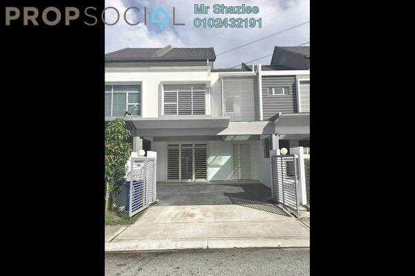 For Sale Terrace at Damai Residences, Kota Kemuning Freehold Semi Furnished 4R/4B 740k