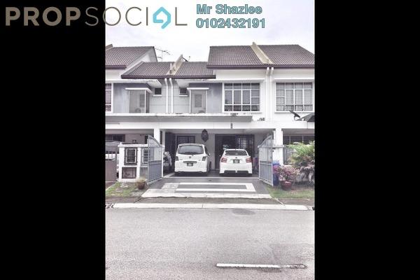 For Sale Terrace at Indah Residences, Kota Kemuning Freehold Semi Furnished 3R/3B 745k