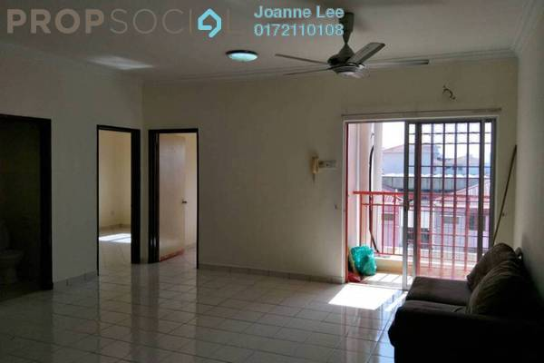 For Rent Apartment at Bayu Puteri, Tropicana Freehold Semi Furnished 3R/2B 1.3k