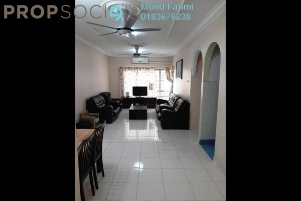 For Sale Apartment at Melur Apartment, Sentul Freehold Semi Furnished 3R/2B 390k