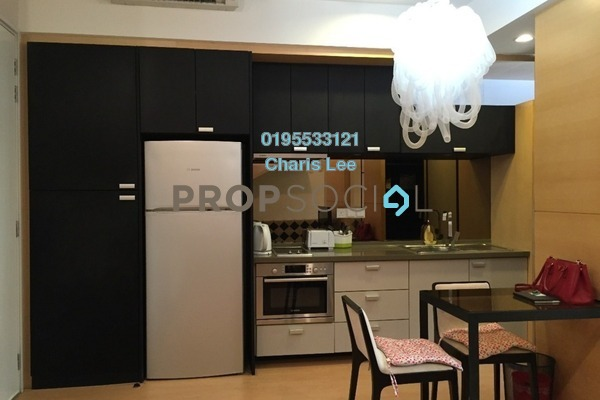 For Rent Serviced Residence at VERVE Suites, Mont Kiara Freehold Fully Furnished 1R/1B 2.4k