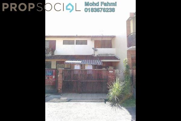 For Sale Terrace at Taman Sri Rampai, Setapak Freehold Unfurnished 3R/2B 480k