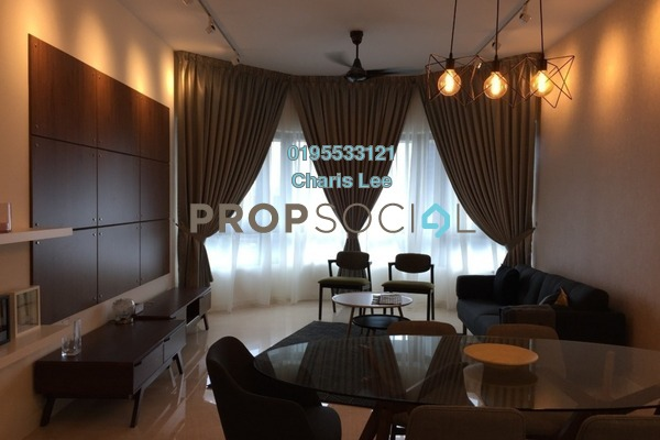 For Sale Serviced Residence at The Sentral Residences, KL Sentral Freehold Fully Furnished 2R/2B 1.7m