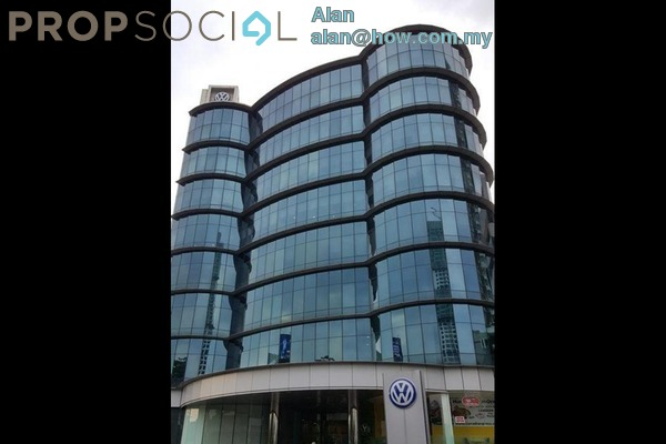 For Rent Office at Wisma Volkswagen, Bangsar Freehold Unfurnished 0R/0B 13.7k