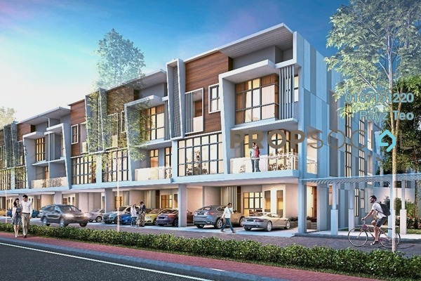 For Sale Villa at Botanika, Johor Bahru Leasehold Semi Furnished 5R/5B 1.35m
