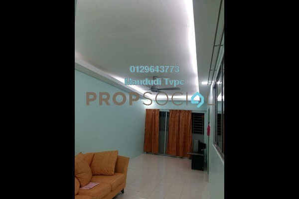 For Sale Apartment at Residensi Bistaria, Ukay Freehold Semi Furnished 3R/2B 299k
