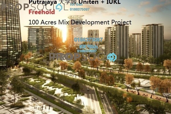 For Sale Condominium at De Centrum City, Kajang Freehold Semi Furnished 3R/2B 538k