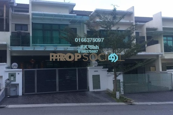 For Sale Superlink at Bandar Damai Perdana, Cheras South Freehold Fully Furnished 5R/5B 1.05m