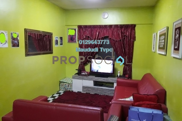 For Sale Apartment at Taman Aman Putra, Jinjang Freehold Semi Furnished 3R/1B 185k