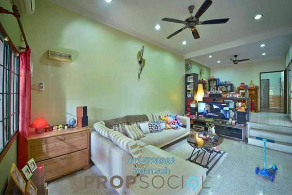 For Sale Terrace at Kepong Baru, Kepong Freehold Semi Furnished 3R/2B 715k