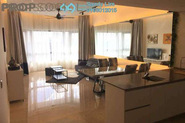 For Rent Condominium at The Sentral Residences, KL Sentral Freehold Fully Furnished 2R/3B 6k