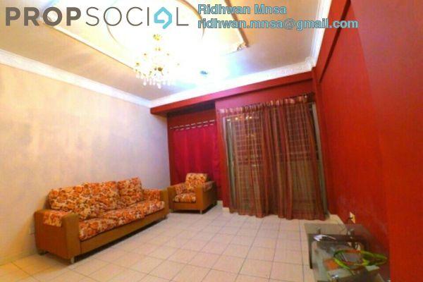 For Sale Apartment at Belimbing Heights, Seri Kembangan Freehold Semi Furnished 3R/2B 350k