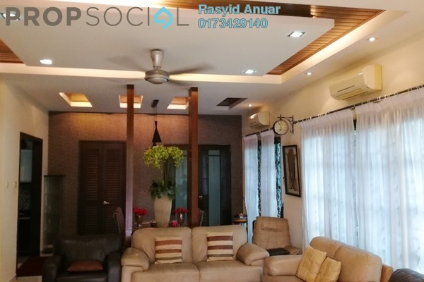 For Rent Semi-Detached at Tinta, Alam Impian Freehold Fully Furnished 4R/5B 3k