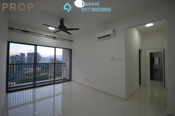 For Rent Serviced Residence at Seasons Garden Residences, Wangsa Maju Freehold Semi Furnished 3R/2B 1.7k