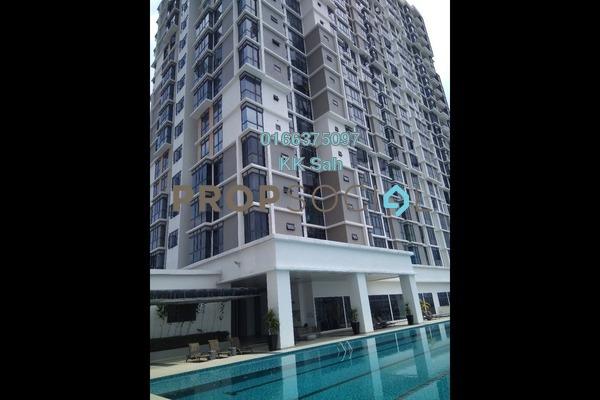 For Sale Serviced Residence at Taman Shamelin Perkasa, Cheras Freehold Semi Furnished 3R/2B 638k