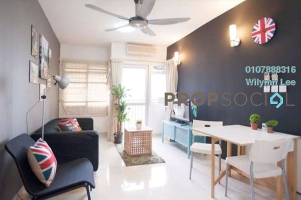 For Rent Condominium at Perdana Exclusive, Damansara Perdana Freehold Fully Furnished 2R/1B 1.95k