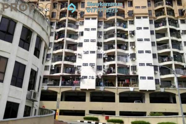 For Sale Apartment at Ixora Apartment, Kepong Freehold Fully Furnished 3R/2B 260k