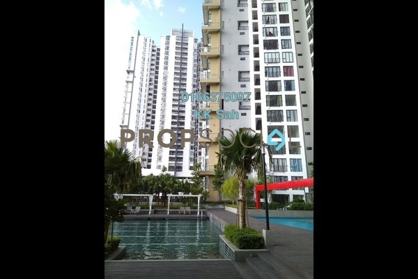 For Rent Serviced Residence at You Vista @ You City, Batu 9 Cheras Freehold Semi Furnished 1R/2B 1.3k