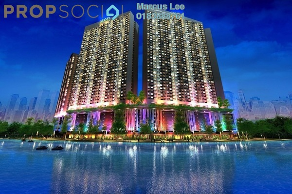 For Sale Condominium at Mizumi Residences, Kepong Leasehold Semi Furnished 3R/2B 406k