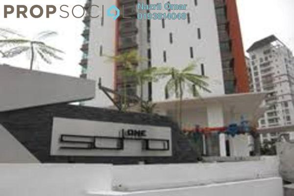 For Rent Serviced Residence at Subang SoHo, Subang Jaya Freehold Semi Furnished 1R/1B 1.65k