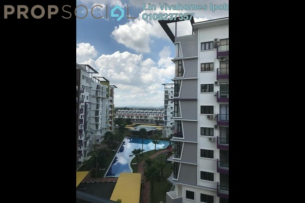 For Rent Condominium at Treetops Residency, Ipoh Freehold Fully Furnished 3R/2B 1.8k