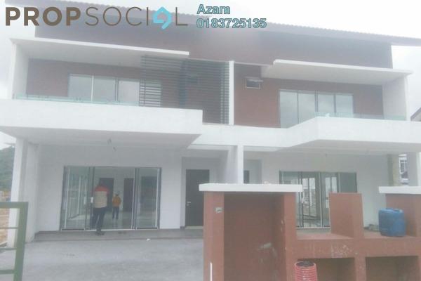 For Sale Semi-Detached at Taman Jenderam Permai, Dengkil Freehold Unfurnished 5R/3B 680k