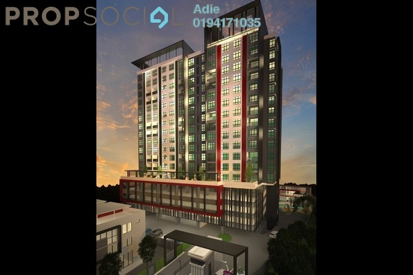 For Sale Condominium at Casa Residence, Bukit Mertajam Freehold Unfurnished 3R/2B 510k
