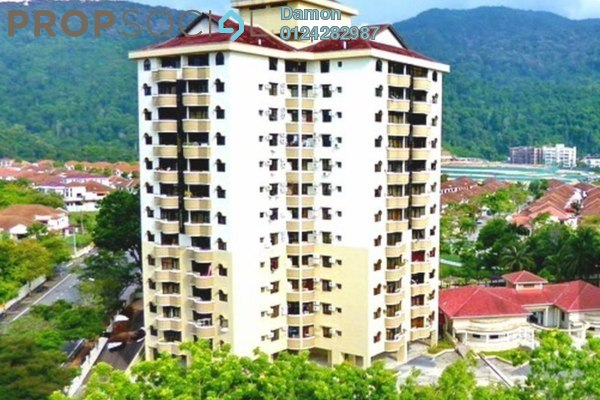 For Sale Condominium at Eden Fairway, Batu Ferringhi Freehold Fully Furnished 3R/2B 490k