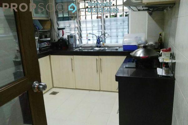 For Sale Terrace at Medan Idaman, Setapak Freehold Semi Furnished 6R/4B 1.2m