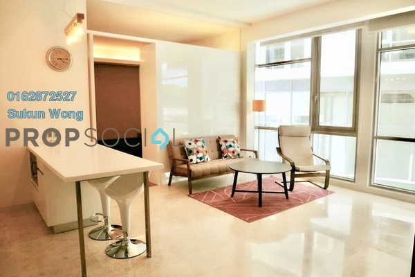 For Rent Condominium at The Signature, Sri Hartamas Freehold Fully Furnished 2R/2B 3.5k