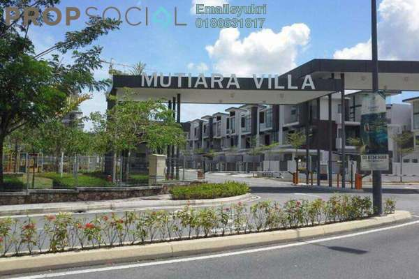 For Sale Terrace at Mutiara Villa, Kajang Freehold Unfurnished 5R/4B 920k