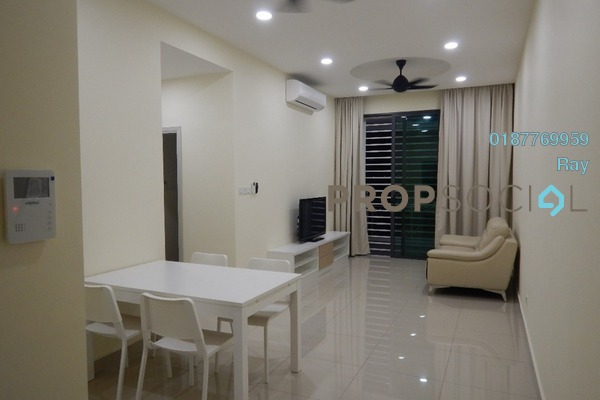 For Rent Condominium at The Vyne, Sungai Besi Freehold Fully Furnished 2R/2B 1.4k