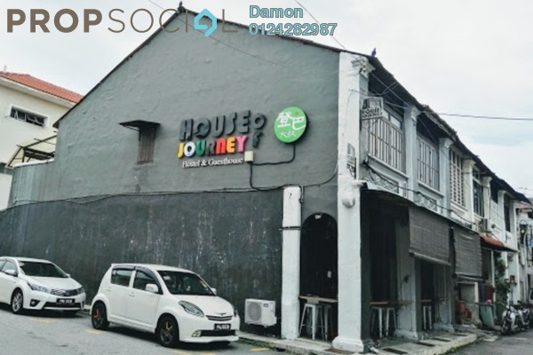 For Sale Terrace at Lebuh Chulia, Georgetown Freehold Unfurnished 8R/4B 2.8m
