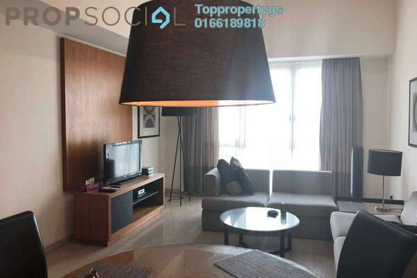 For Rent Serviced Residence at myHabitat, KLCC Freehold Fully Furnished 2R/2B 3.6k