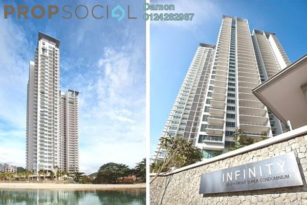 For Sale Condominium at Infinity, Tanjung Bungah Freehold Fully Furnished 7R/6B 6.5m