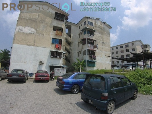 For Sale Apartment at Apartment Dahlia, Bukit Beruntung Freehold Unfurnished 2R/1B 55k