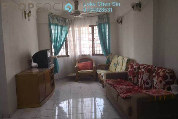 For Sale Condominium at Ria Apartment, Butterworth Freehold Fully Furnished 3R/2B 210k