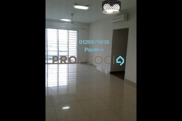 For Rent Condominium at Zen Residence, Puchong Freehold Semi Furnished 3R/2B 1.4k