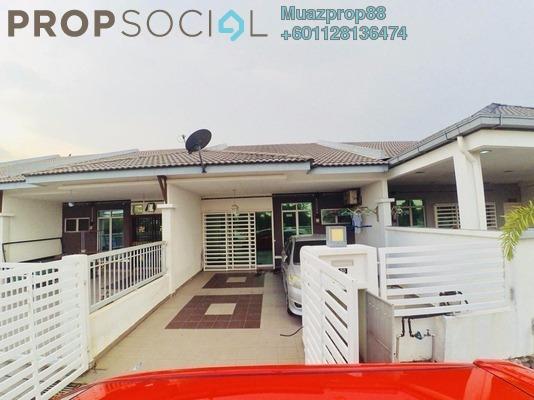 For Sale Terrace at Bandar Putera 2, Klang Leasehold Semi Furnished 3R/2B 390k