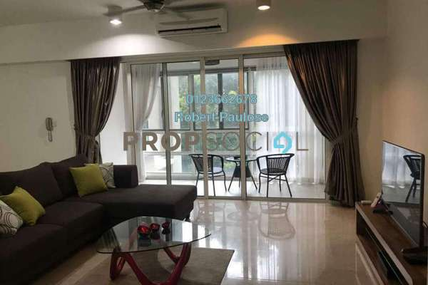 For Rent Condominium at Kiaraville, Mont Kiara Freehold Fully Furnished 3R/3B 5k