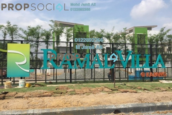For Sale Semi-Detached at Ramal Villa, Kajang Freehold Unfurnished 6R/6B 980k