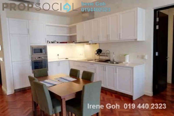 For Rent Condominium at Quayside, Seri Tanjung Pinang Freehold Fully Furnished 1R/2B 3k