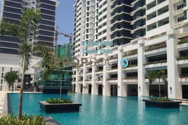 For Sale Condominium at Kiara Residence 2, Bukit Jalil Freehold Semi Furnished 4R/3B 730k